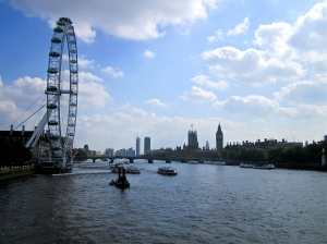 Beautiful day on the Thames!