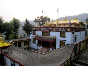 Tse Chok Ling Monastery - where we stayed for the weekend.