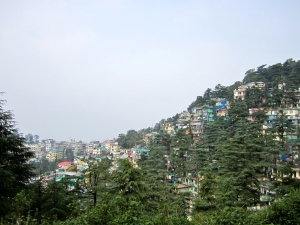 Mcleodganj - the seat of the exiled Tibetan Government