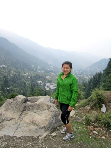 Before the trek to Triund Hill